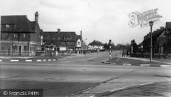 Manor Road North c.1955, Hinchley Wood