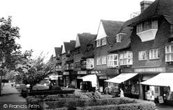 Manor Road North c.1965, Hinchley Wood