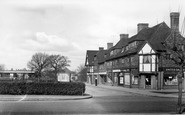 Hinchley Wood, Station Approach c1955