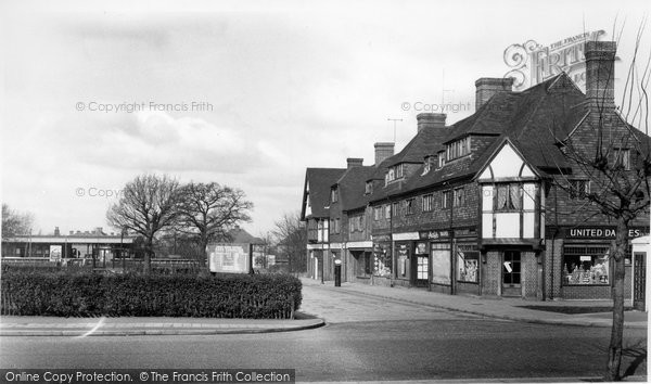 Photo of Hinchley Wood, Station Approach c1955