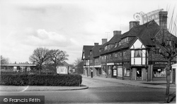 Station Approach c.1955, Hinchley Wood