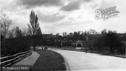 View From The Bridge c.1955, Hinchley Wood
