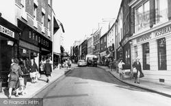 Hinckley, Castle Street 1964