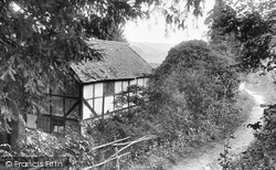 Broom Squire's Cottage 1925, Hindhead