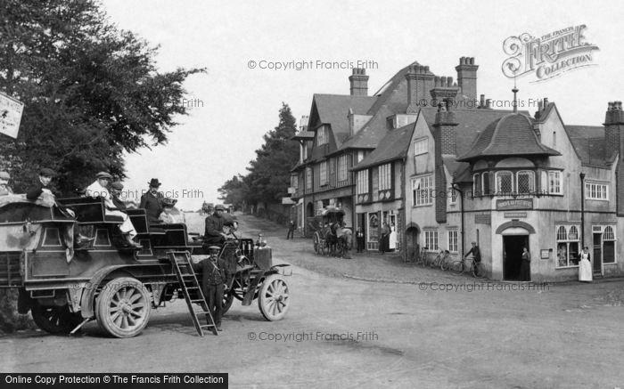Hindhead, Charabanc 1906