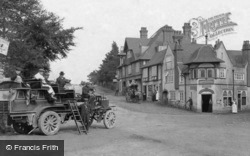 Hindhead, Charabanc And The Post Office 1906