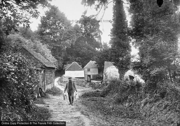 Photo of Hindhead, George Mayes And Broom Squire's Cottage 1907