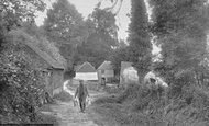 Hindhead, Broom Squire's Cottage 1907