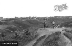 Golf Links, Second Tee 1918, Hindhead