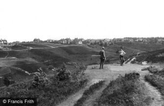 Hindhead, Golf Links, Second Tee 1918