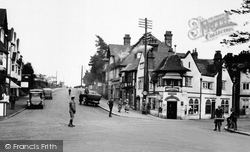 Hindhead, Post Office Corner 1924