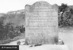 Sailor's Stone 1907, Hindhead