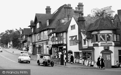 Hindhead, The Corner Shop c.1965