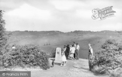 Hindhead, The Lookout c.1955