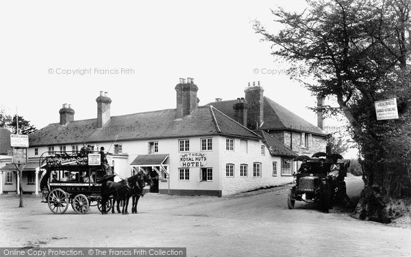 Hindhead, The Royal Huts Hotel 1906