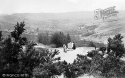Hindhead, The Sailor's Stone And Devil's Punch Bowl 1914