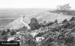 Hindhead, View From Gibbet Cross 1914