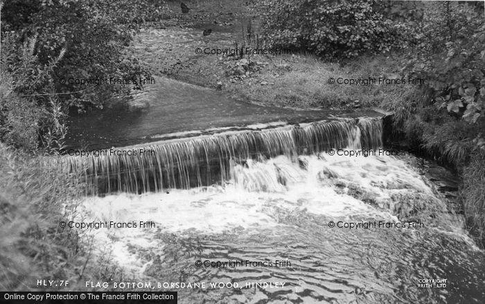 Photo of Hindley, Flag Bottom, Borsdane Wood c1950