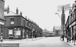 Market Street c.1950, Hindley
