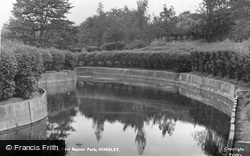 Paddling Pool Raynor Park c.1950, Hindley