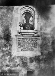 Hingham, Abraham Lincoln's Ancestors Memorial c.1955