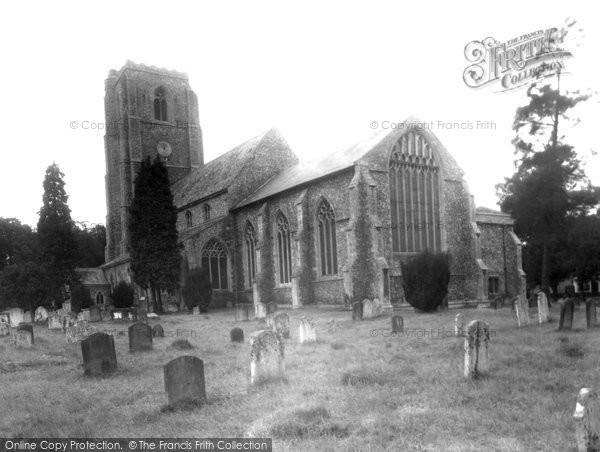 Photo of Hingham, St Andrew's Church c.1955