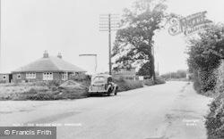 Hingham, The Watton Road c.1955