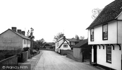 Hinxton, High Street c.1960
