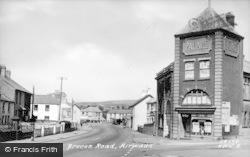 Hirwaun, Brecon Road c.1955