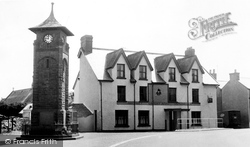 Hirwaun, The Cenotaph, High Street c.1960
