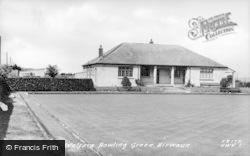 Hirwaun, Welfare Bowling Green c.1955