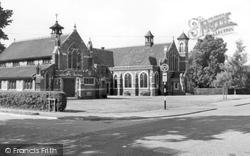 Histon, Baptist Church c.1965