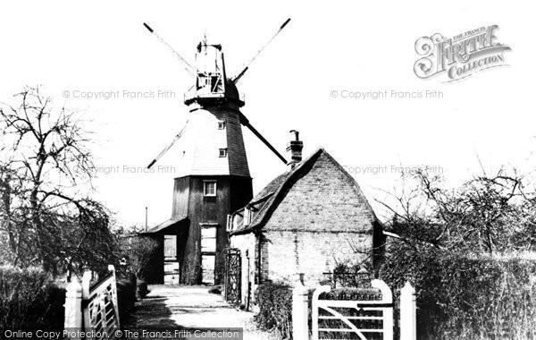 ,Histon, the Windmill c1965, Cambridgeshire,