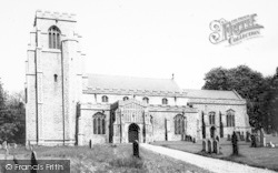 Hitcham, Parish Church c.1960
