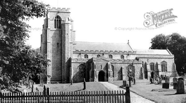 Hitcham, the Church c1960