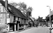 Hitchin, Bridge Street c1955