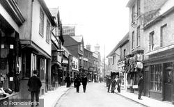 Bucklersbury 1908, Hitchin