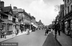 High Street 1929, Hitchin
