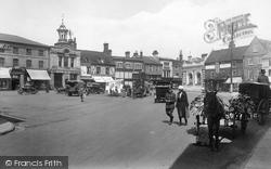 Market Place 1922, Hitchin