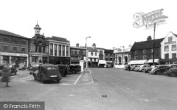 Market Place c.1955, Hitchin