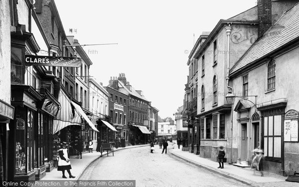 Photo of Hitchin, Sun Street 1901