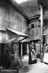 The Inner Courtyard, The Biggin 1903, Hitchin