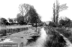 View At West Mill 1901, Hitchin