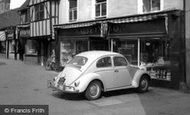 Hitchin, VW Beetle Car c1965
