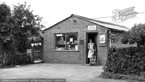 Hixon, the Post Office c1952