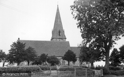 Hixon, St Peter's Church c.1955