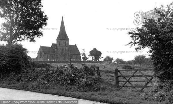 Hixon, St Peters Church c1955