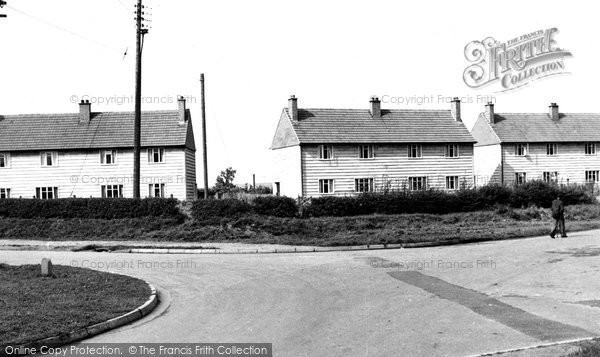 Hixon, the Cross Roads, Lander Grove c1955