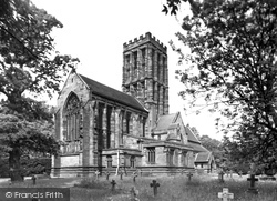 Hoar Cross, Church Of Holy Angels c.1955