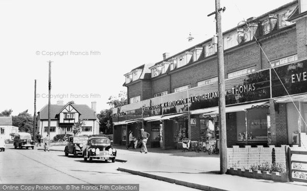 Photo of Hockley, Broad Parade c1955, ref. H176020